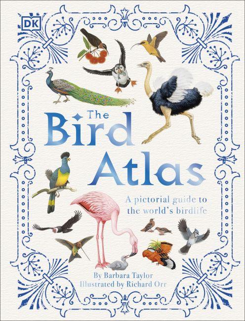 Hardback cover of The Bird Atlas