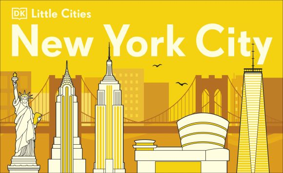 Board book cover of Little Cities New York