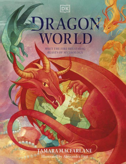 Hardback cover of Dragon World