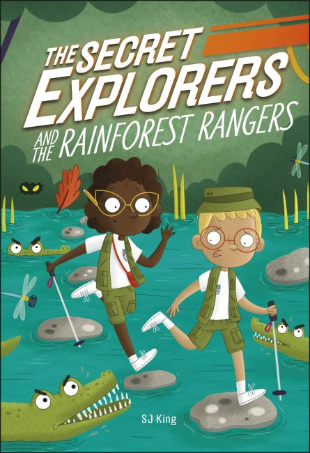 Hardback cover of The Secret Explorers and the Rainforest Rangers