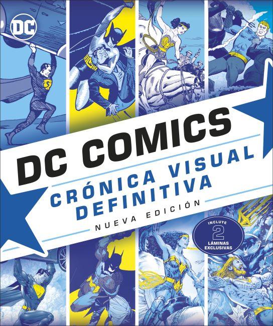 Hardback cover of DC Comics Cronica Visual