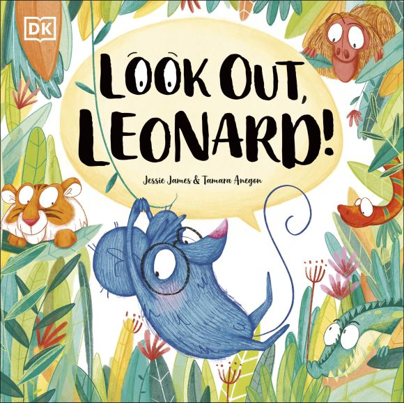 Hardback cover of Look Out, Leonard!