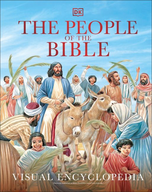 Hardback cover of The People of the Bible Visual Encyclopedia