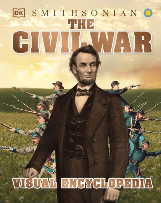 Hardback cover of The Civil War Visual Encyclopedia
