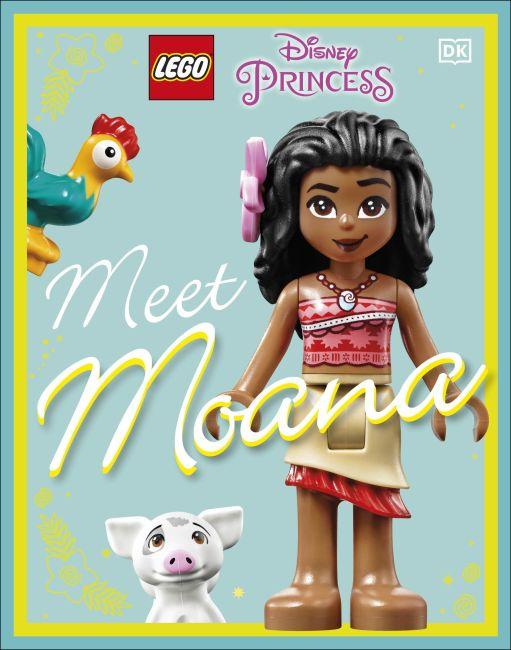 Hardback cover of LEGO Disney Princess Meet Moana