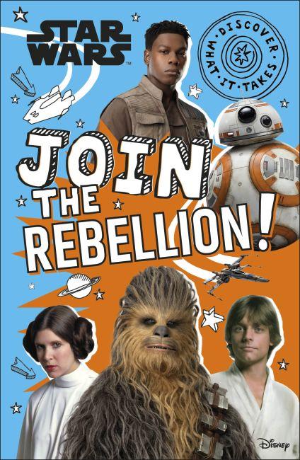 Hardback cover of Star Wars Join the Rebellion!