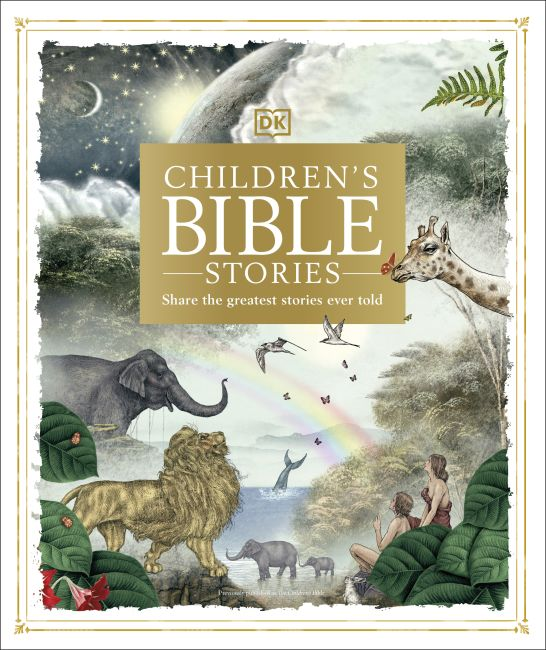 Hardback cover of Children's Bible Stories