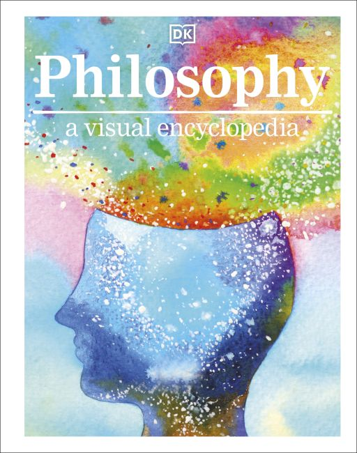 Hardback cover of Philosophy A Visual Encyclopedia  (Library Edition)