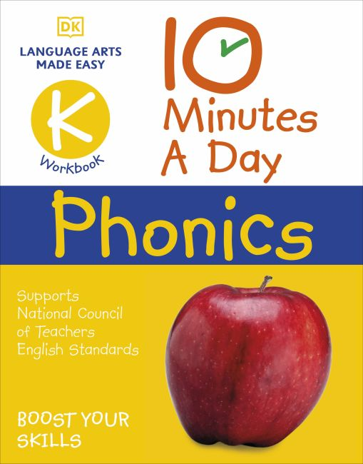 Paperback cover of 10 Minutes a Day Phonics Kindergarten