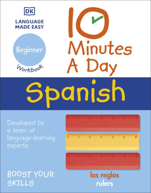 Paperback cover of 10 Minutes a Day Spanish for Beginners
