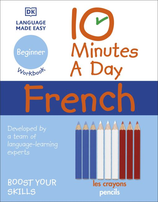 Paperback cover of 10 Minutes a Day French for Beginners