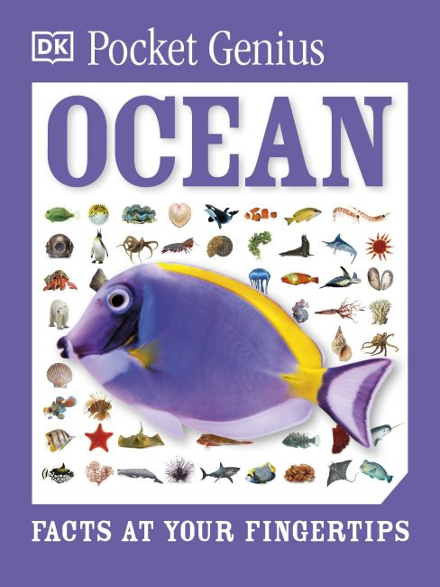 Paperback cover of Pocket Genius Ocean