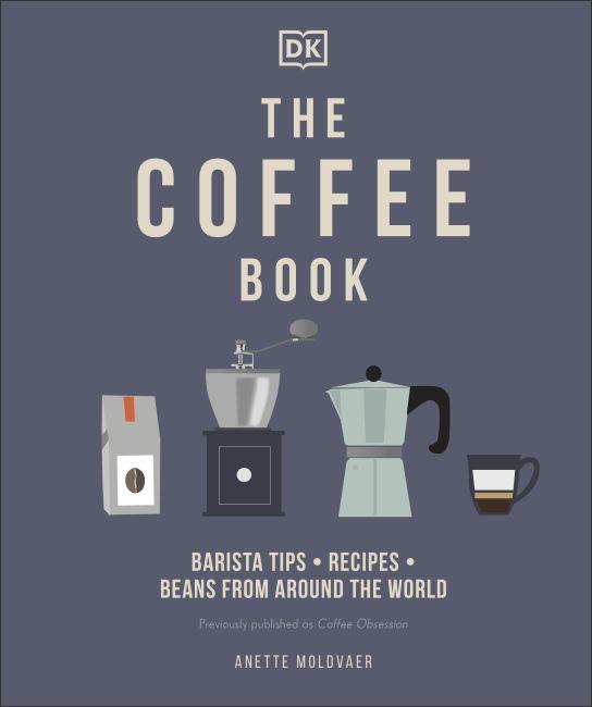 Hardback cover of The Coffee Book