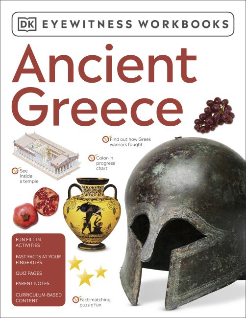 Paperback cover of Eyewitness Workbooks Ancient Greece