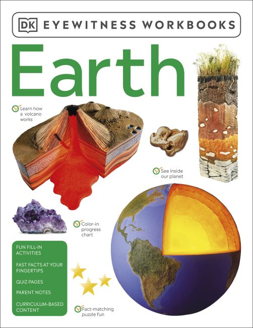 Paperback cover of Eyewitness Workbooks Earth