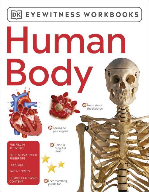 Paperback cover of Eyewitness Workbooks Human Body