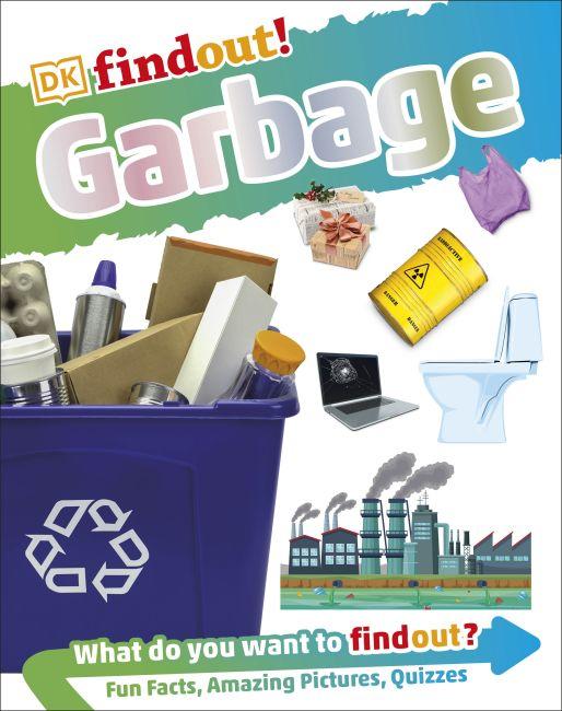 Hardback cover of DKfindout! Garbage