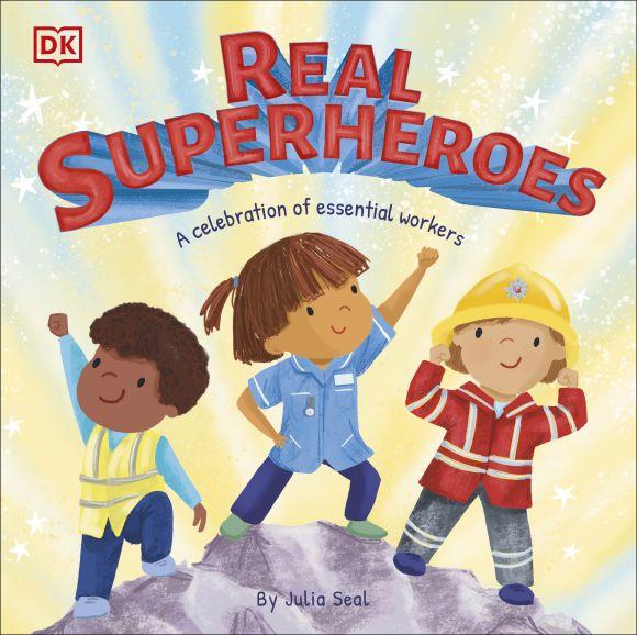 Hardback cover of Real Superheroes