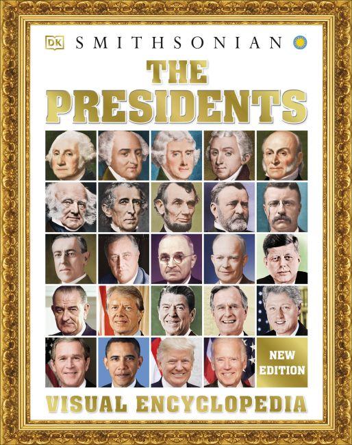 Hardback cover of The Presidents Visual Encyclopedia