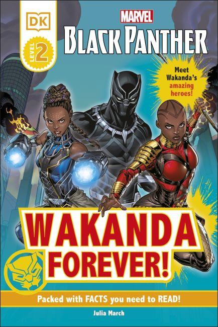 Hardback cover of Marvel Black Panther Wakanda Forever!