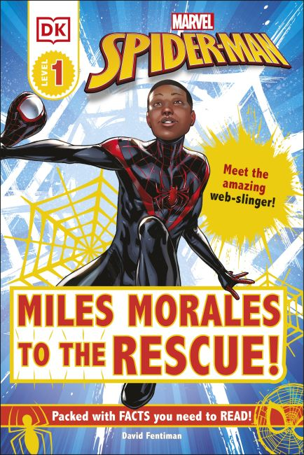 Hardback cover of Marvel Spider-Man Miles Morales to the Rescue!
