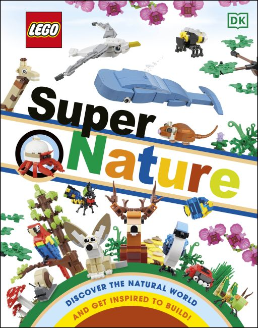 Hardback cover of LEGO Super Nature