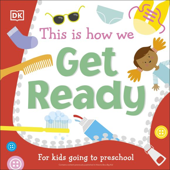 Board book cover of This Is How We Get Ready