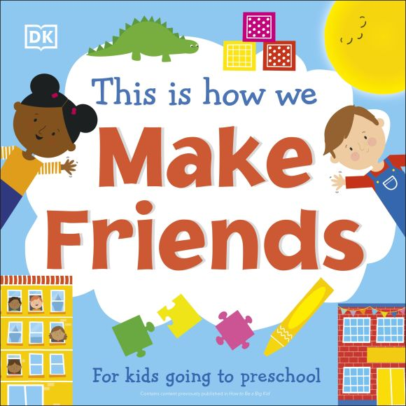 Board book cover of This Is How We Make Friends