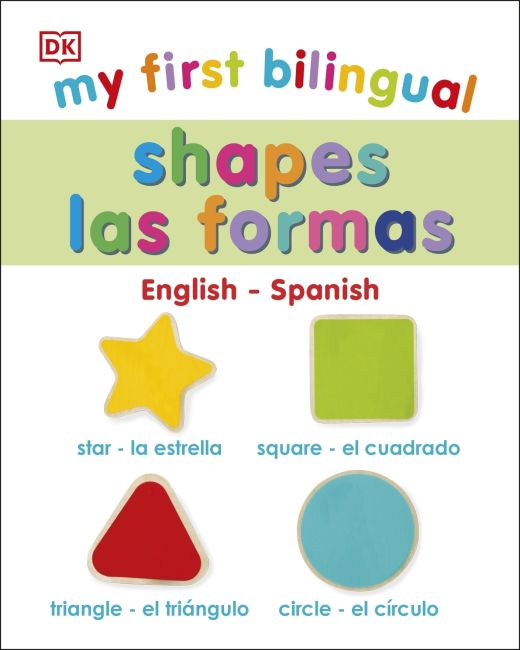 eBook cover of My First Bilingual Shapes