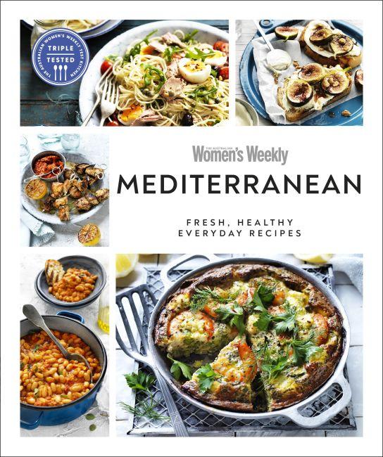 Paperback cover of Australian Women's Weekly Mediterranean