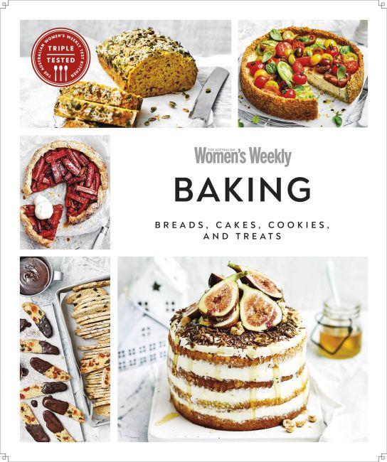 Paperback cover of Australian Women's Weekly Baking