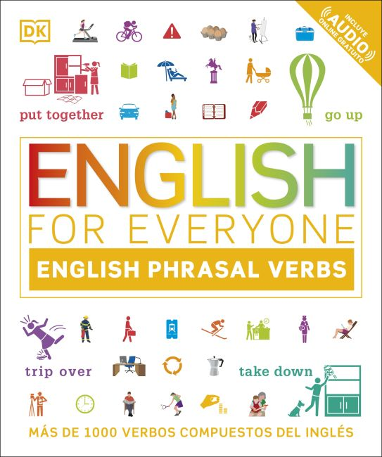 Paperback cover of English for Everyone English Phrasal Verbs