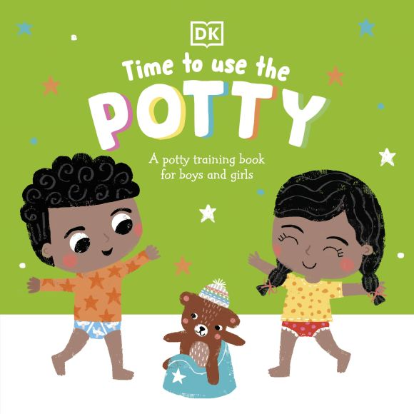 Board book cover of Time to Use the Potty
