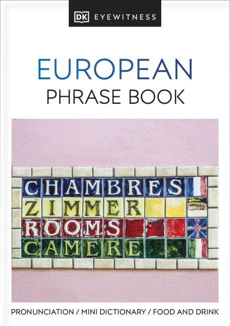 Paperback cover of European Phrase Book