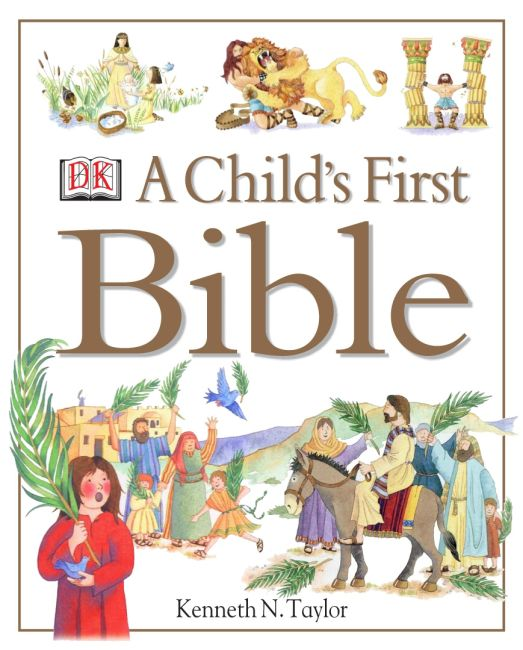 Hardback cover of A Child's First Bible