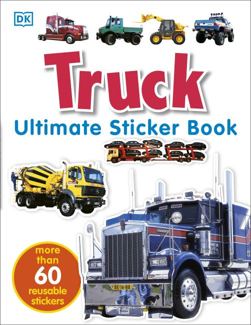 Paperback cover of Ultimate Sticker Book: Truck