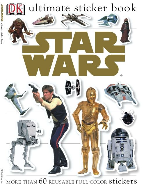 Paperback cover of Ultimate Sticker Book: Star Wars