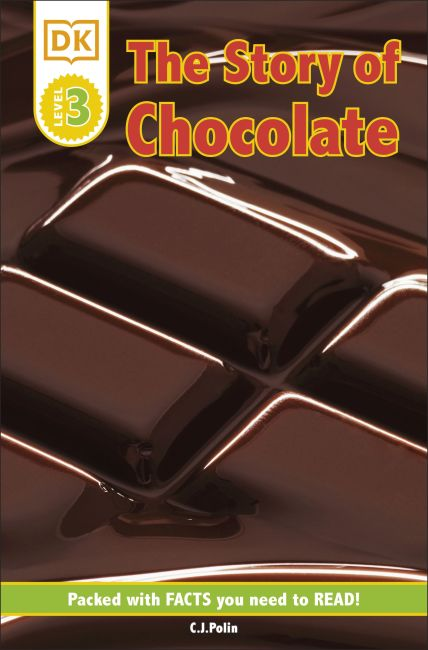 Paperback cover of DK Readers: The Story of Chocolate
