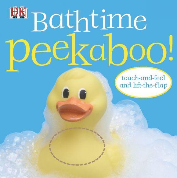 Board book cover of Bathtime Peekaboo!
