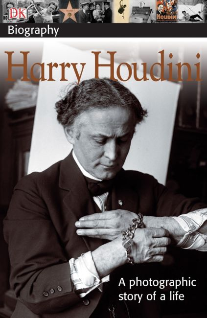 Paperback cover of DK Biography: Harry Houdini