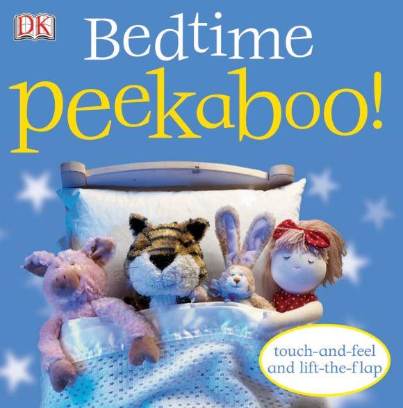 Board book cover of Bedtime Peekaboo!