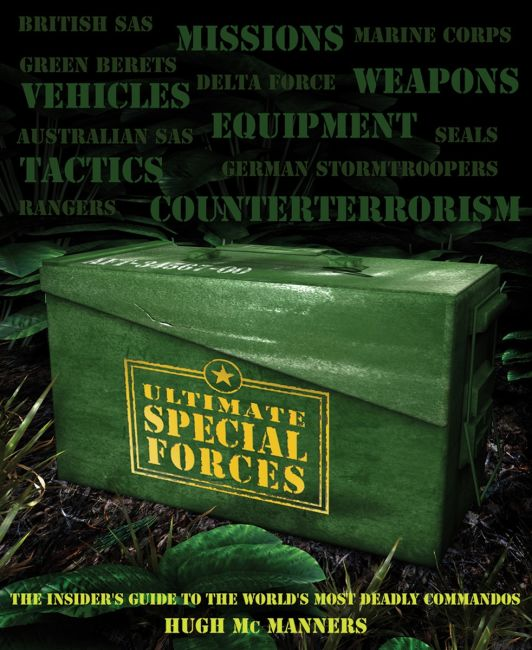 Paperback cover of Ultimate Special Forces
