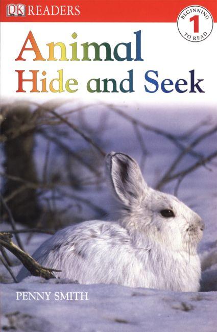 Paperback cover of DK Readers L1: Animal Hide and Seek