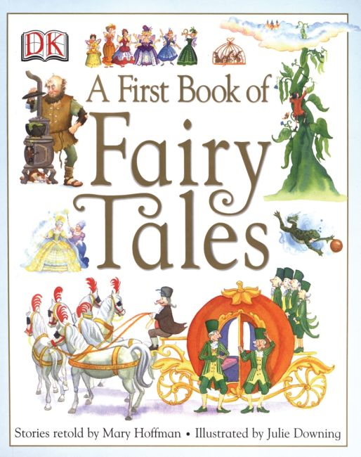 Paperback cover of A First Book of Fairy Tales