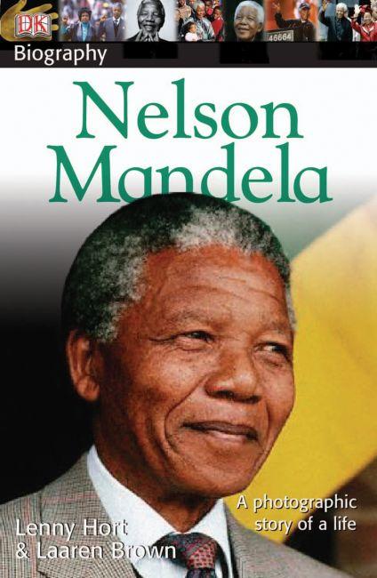 Paperback cover of DK Biography: Nelson Mandela