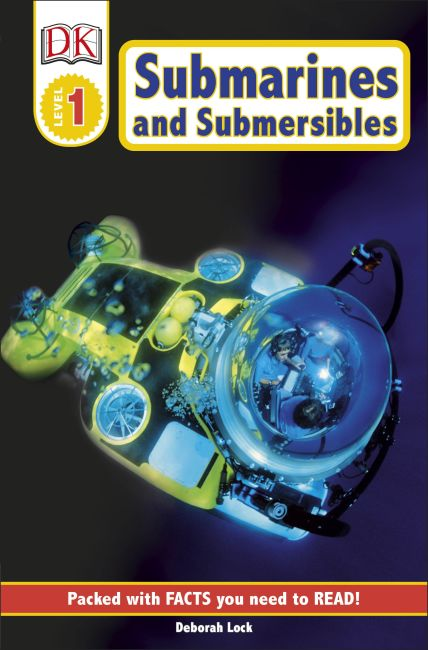 Paperback cover of DK Readers L1: Submarines and Submersibles