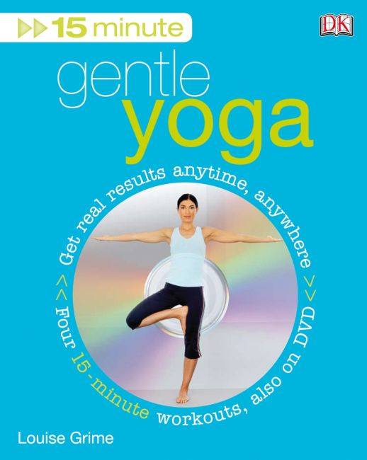 Paperback cover of 15 Minute Gentle Yoga
