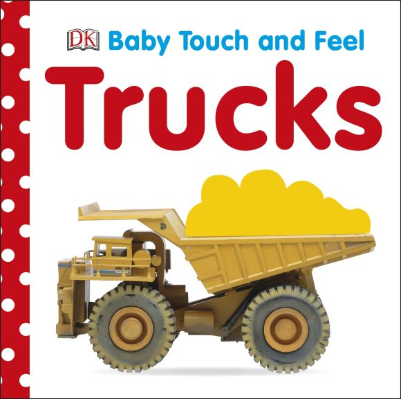 Board book cover of Baby Touch and Feel: Trucks