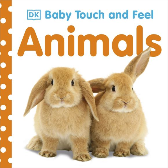 Board book cover of Baby Touch and Feel: Animals