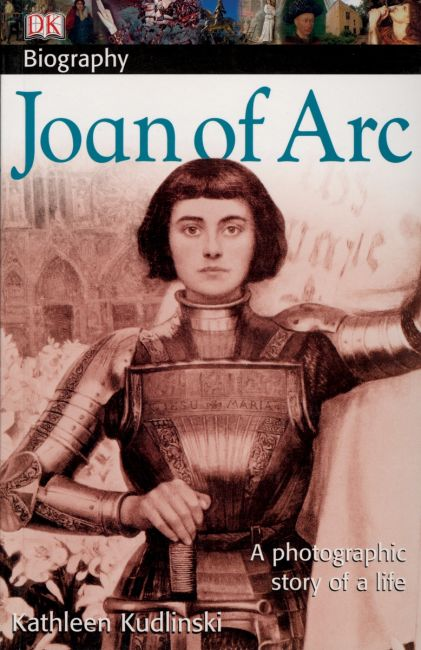 Paperback cover of DK Biography: Joan of Arc